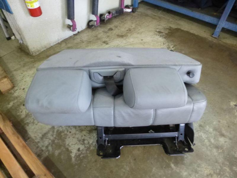 Sitzgarnitur komplett Leder geteilt hellgrauMERCEDES-BENZ M-KLASSE (W163) ML 270 CDI
