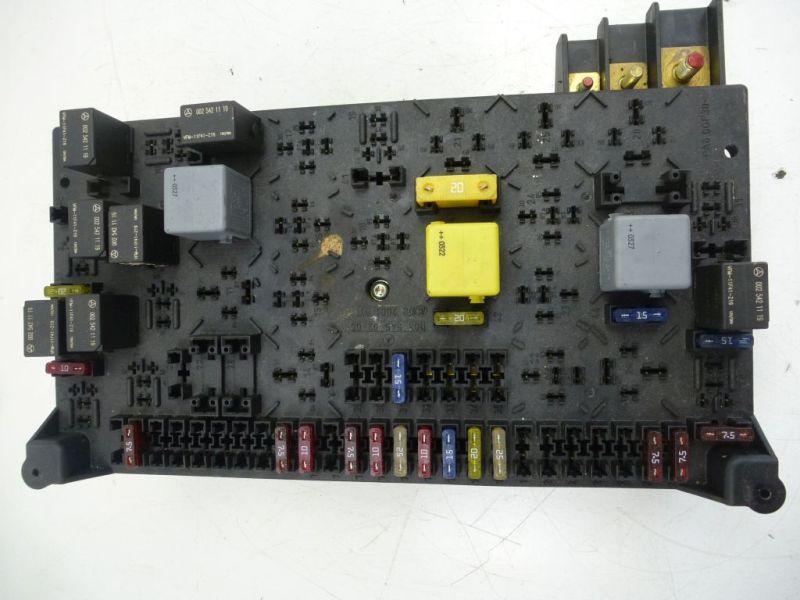 Sicherungskasten 1635450205MERCEDES-BENZ M-KLASSE (W163) ML 270 CDI
