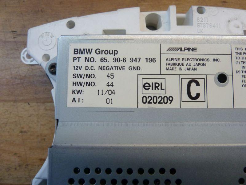 Navigationssystem BMW MINI R50 01-06